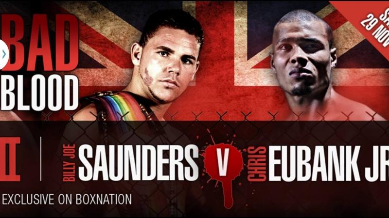 Chris Eubank Jr vs Billy Joe Saunders