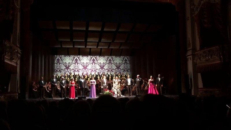 Brindisi after a terrific Opera Gala to celebrate Paata Burchuladze
