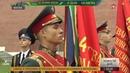 В день 100 летия Военной комендатуры Москвы в Александровском саду воссоздали историю Вечного огня