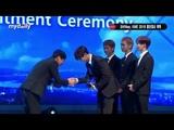 180614 SHINee receives an honorary ambassador award for the Korean MICE