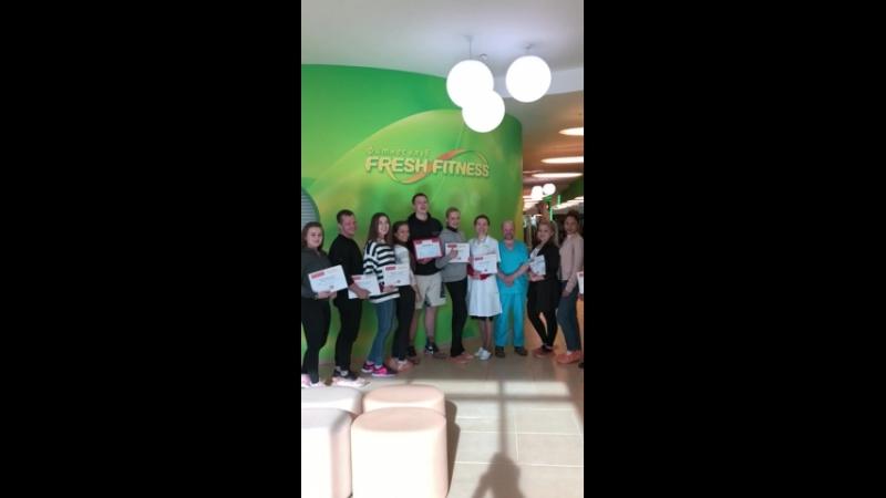 Тренинг Эффективные продажи персонального тренинга для сети ФК «FRESH FITNESS»/Екатеринбург.