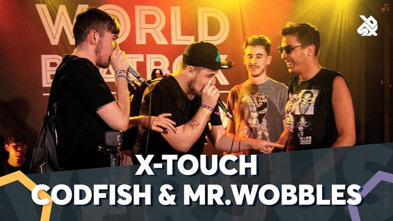 CODFISH MR.WOBBLES VS X-TOUCH | WBC TAG TEAM BATTLE | 1/4