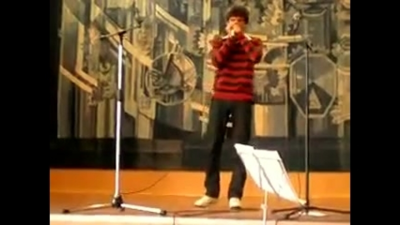 Alexander Gorges - Improvisation on the harmonica Golden Melody in A (Blues in E
