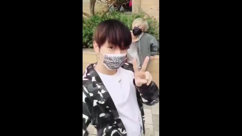 [SNS] 180417 | Обновление на фанкафе Wanna One от Даниэля