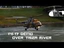 Mil Mi 17 demonstration flight from HUAF at Tisza River Szolnok