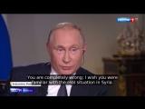 В.В.Путин о Сирии