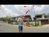 Жонглер в Малайзии