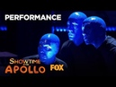 The Blue Man Group Ensure A Great Performance Season 1 Ep 9 SHOWTIME AT THE APOLLO