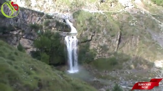 waterfall | amazing natural waterfall with pashto music in pakistan 2018