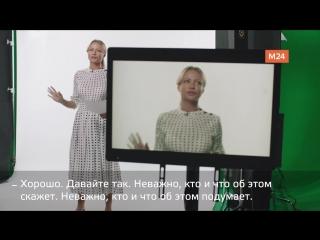 Мария Миронова бэкстейдж