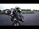 MOTORCYCLE STUNTS • Burnout Tires, Crazy Speed, Bike Stunts and Race Through the City