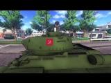 PewDiePie во время игры в Girls und Panzer: Dream Tank Match спел гимн СССР верхом на советском танке.
