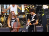 Steve Vai + Apocalyptica. Kashmir (Led Zeppelin cover) 30 cellos, 50 guitars