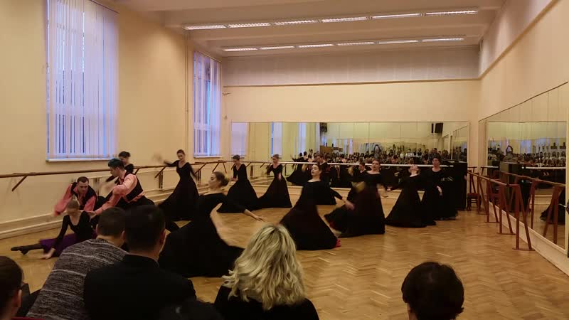 А Керн Сцена из балета Лауренсия СПбГУП 4 курс 2018 рук Соколова Е В