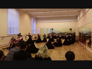 А.Керн. Сцена из балета Лауренсия, СПбГУП 4 курс 2018 рук.Соколова Е.В.