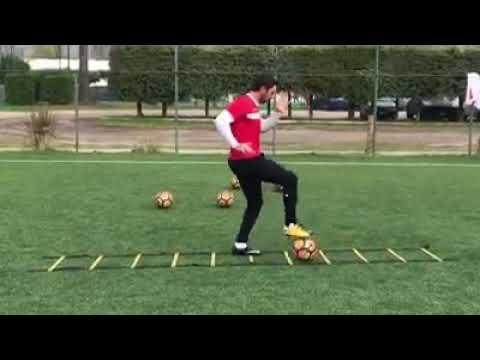 Esercizi Dominio palla con utilizzo scaletta