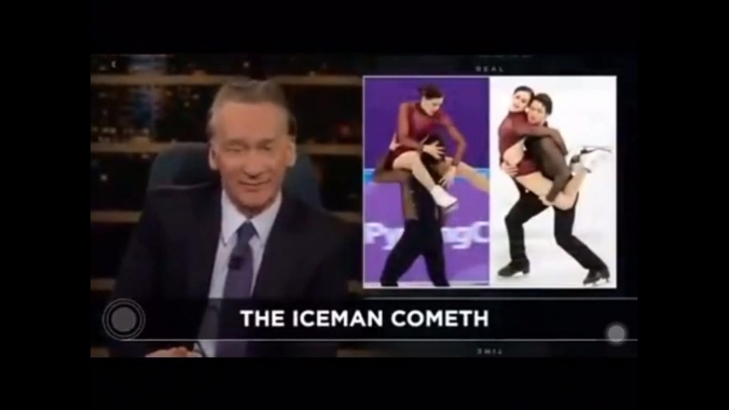 Tessa and Scott being talked about on Bill Maher