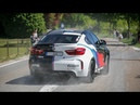 700HP BMW X6M w Akrapovic Exhaust LOUD Pops and Bangs Revs Accelerations Launch Control