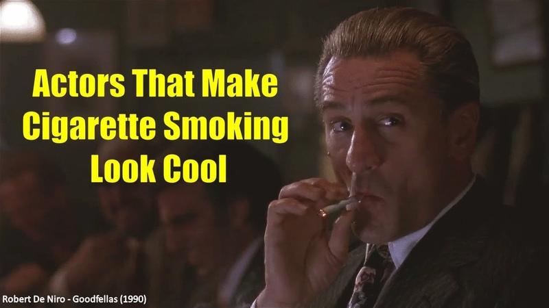 Actors That Make Cigarette Smoking Look Cool 2