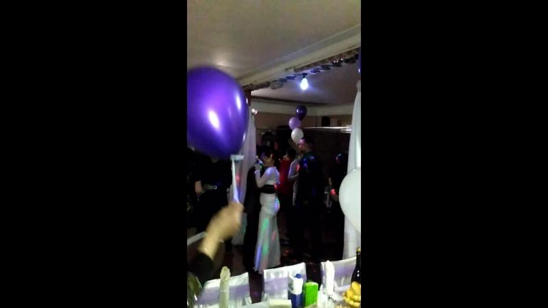Свадьба.Танец Жениха и Невестой