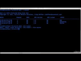 Kali Linux лекция часть 4