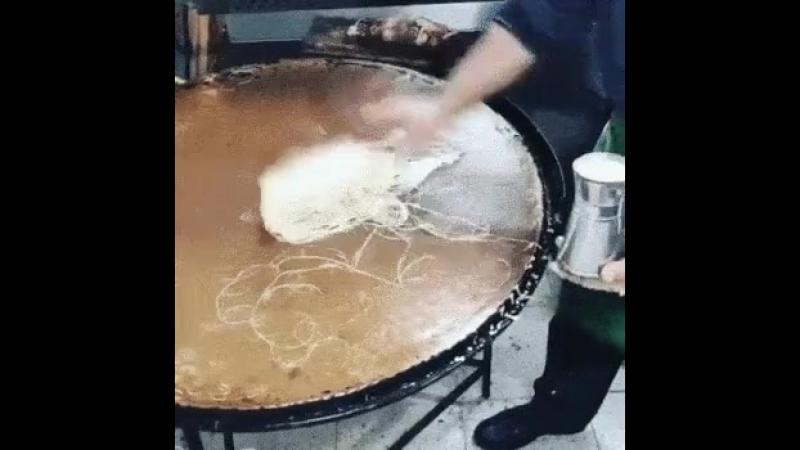 Как делается Китайская рисовая лапша