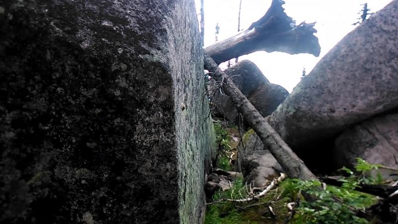 Мегалиты Горной Шории. Восточная стена. 9.08.2018 - 10:27