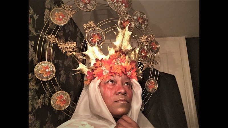 DIY Alphonse Mucha -inspired Headdress (part 22)