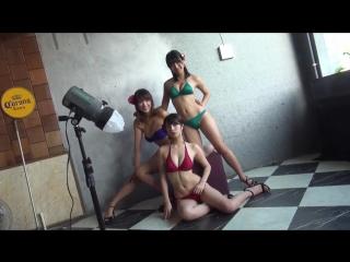 <柳ゆり菜・久松郁実・浅川梨奈>YM看板トリオのビキニPARTY - Yuri Yuri, Ikumi Hisamatsu, Rina Asakawa YM signboard trios bikini party!
