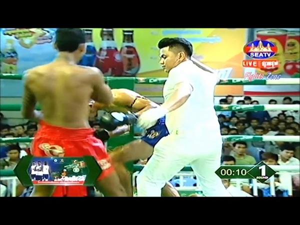 Нокауты в кхмерском боксе, октябрь 2018