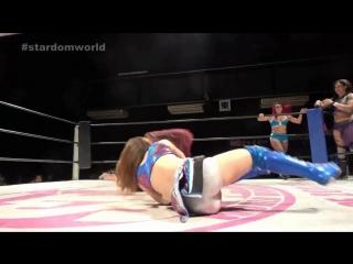 Mari Apache, Hiromi Mimura, Konami vs. Kay Lee Ray, Nicole Savoy, Miranda (STARDOM - New Year Stars 2018 - Day 6)