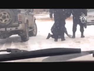 Алтайский СК начал проверку из-за видео, на котором полицейские избивают мужчину на костылях