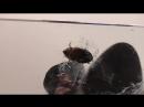 Crush cricket black sandals POV