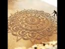 Мандала на песке