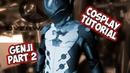 Genji Overwatch Cosplay Costume Tutorial part 2 foam Armor