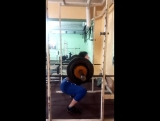 Дорофеева Александра кат 63 кг 26.01.18 тренировка с весом 92.5 на 3 повт.