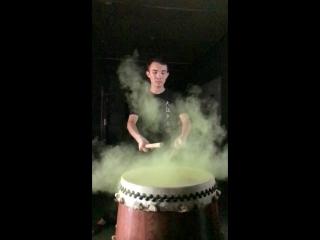 Японский барабан и японский чай