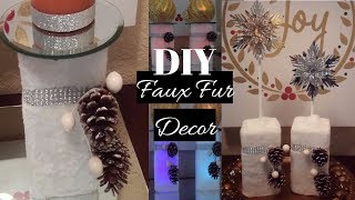 DIY Elegant Dollar Tree Holiday Home Decor | DIY Elegant Topiary| DIY Glam Candle Holders|
