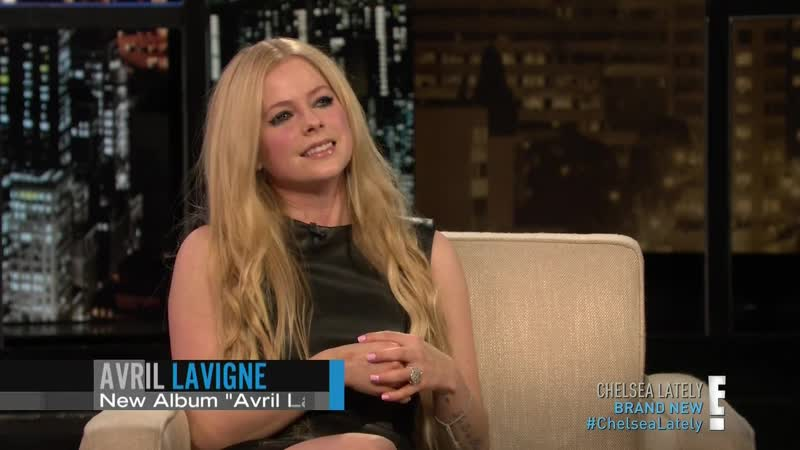 Avril Lavigne Chelsea Lately Interview 12 11 2013