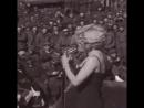 Marilyn Monroe performs for the troops in Korea, 1954. (Marilyn Monroe - Do It Again)