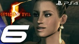 Resident Evil 5 (PS4) - Gameplay Walkthrough Part 6 - The Caves 1080P 60FPS