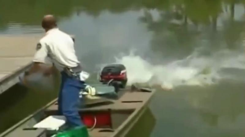 Я убью тебя лодочник...
