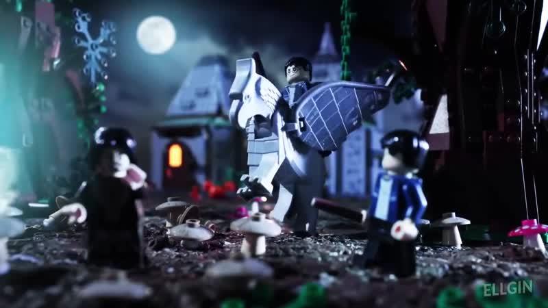Lego гарри поттер - все части за 90 секунд