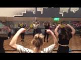 Choreographer Anna Taratuta, jazz funk