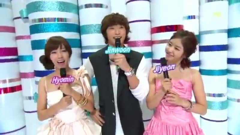 T ara Hyomin Jiyeon 2AM Jin Woon MC cut