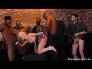 Трахнули при муже Cuckold Sessions- Bella Jane 2018 Blonde Creampie Cuckold Facial GangBang Hairy Petite Tattoos porno