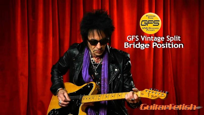 GFS Pickups Earl Slick tests the GFS Vintage Splits