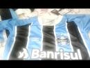 Fora da caixa. Camisa Grêmio 2017 Mundial Fan sem numero.