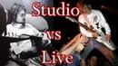 Kurt Cobain - Studio vs Live Guitar Solos