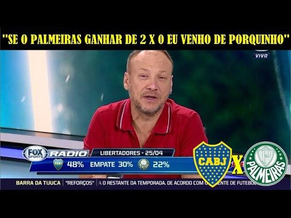 Boca Juniors x Palmeiras - Palpites para a partida da Libertadores no Fox Rádio